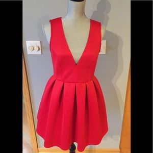 ASOS Petite Red Dress